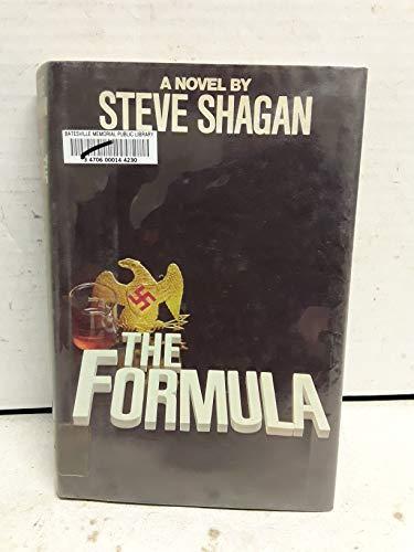 9780688035327: The formula: A novel