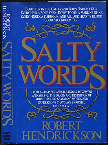 Salty words (0688035507) by Robert Hendrickson