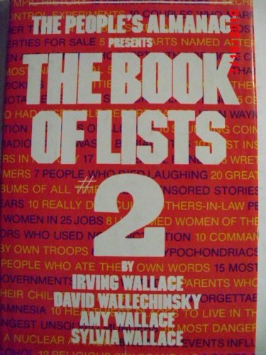 The People's Almanac Presents: The Book of Lists - 2