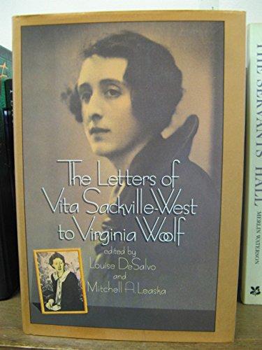 9780688039639: Letters of Vita Sackville-West to Virginia Woolf