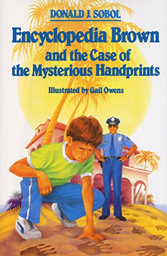 9780688046262: Encyclopedia Brown and the Case of the Mysterious Handprints