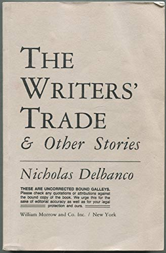 9780688047320: The Writer's Trade & Other Stories
