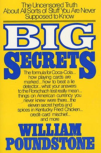 9780688048303: Big Secrets