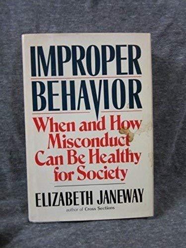 Improper behavior: Elizabeth Janeway