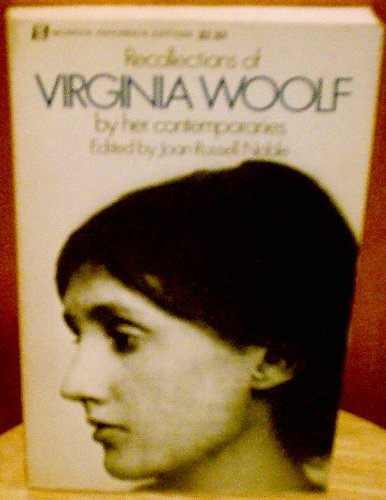 9780688050078: Recollections of Virginia Woolf.