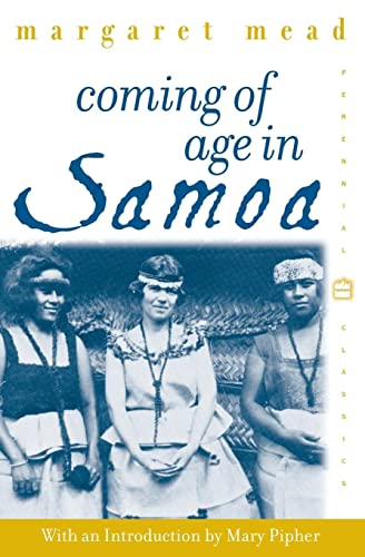 Coming of Age in Samoa: A Psychological: Mead, Margaret