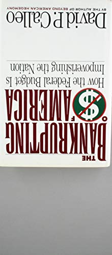 9780688051624: The Bankrupting of America: How the Federal Budget Is Impoverishing the Nation