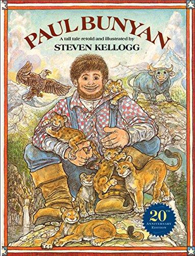 9780688058005: Paul Bunyan (Reading rainbow book)