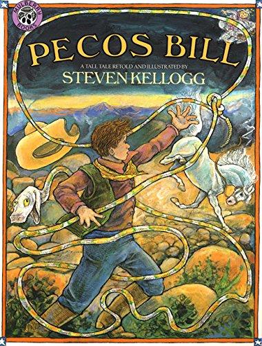 Pecos Bill (SIGNED + DRAWING): Kellogg, Steven