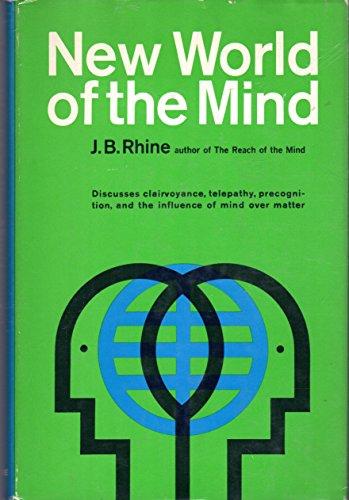 New World of the Mind.: Joseph Banks Rhine