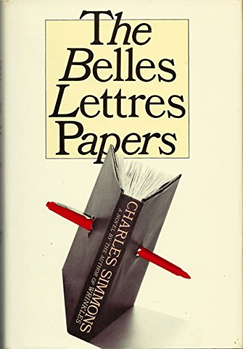 9780688060497: The Belles Lettres Papers
