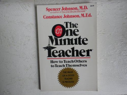 9780688061395: The One Minute Teacher: How to Teach Others to Teach Themselves