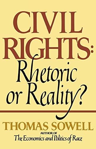 9780688062699: Civil Rights: Rhetoric or Reality?