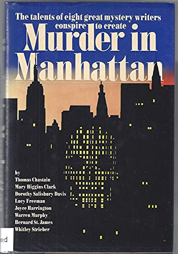 Beispielbild für Murder in Manhattan zum Verkauf von Riverby Books