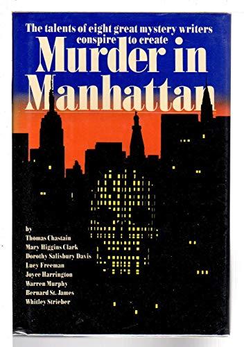 9780688064754: Murder in Manhattan