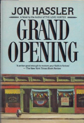 Grand Opening: Hassler, Jon