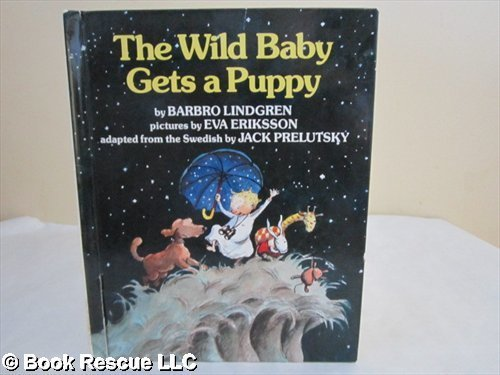 9780688067113: The Wild Baby Gets a Puppy (English and Swedish Edition)
