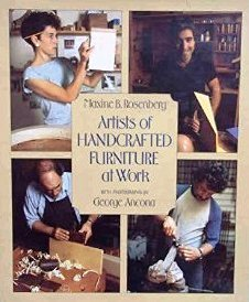 9780688068752: Artists of Handcrafted Furniture at Work