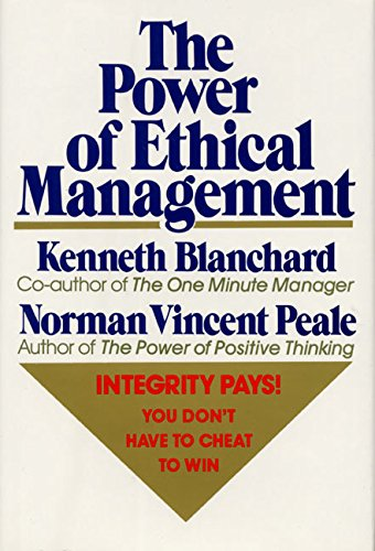 9780688070625: The Power of Ethical Management