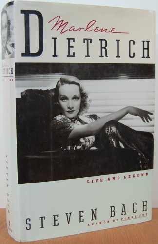 9780688071196: Marlene Dietrich: Life and Legend