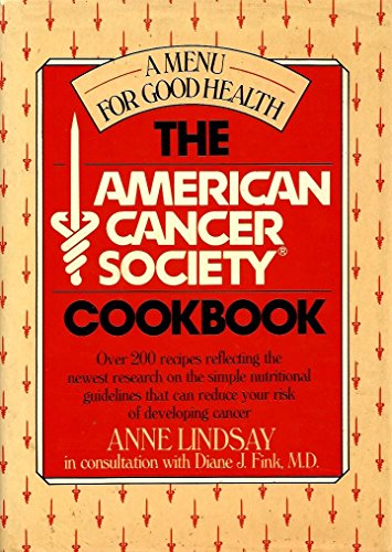 9780688074845: American Cancer Society Cookbook