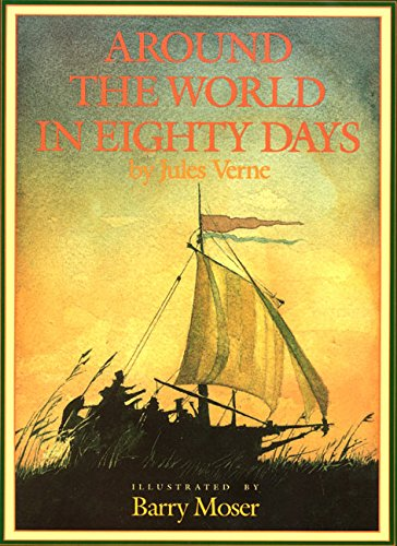 9780688075088: Around the World in Eighty Days (Books of Wonder)