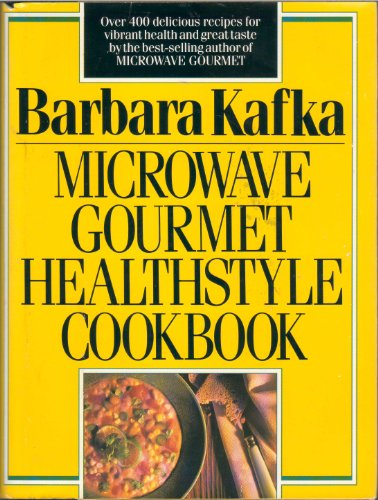 Microwave Gourmet Healthstyle Cookbook 9780688075729 Recipes for healthful foods cooked in a microwave oven are supplemented with advice on portion sizes, diet, and different oven wattages