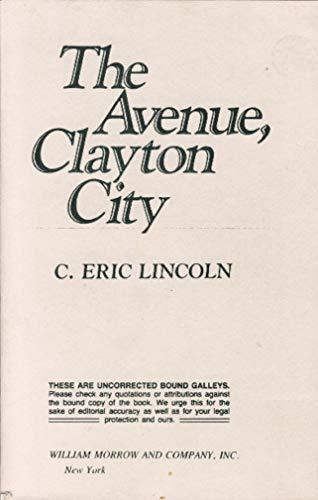 9780688077020: The Avenue, Clayton City