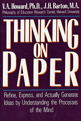 9780688077587: Thinking on Paper