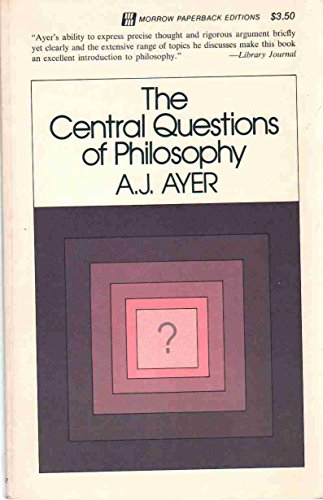 9780688079208: The central questions of philosophy