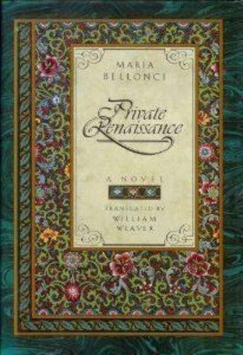 9780688081881: Private Renaissance: A Novel