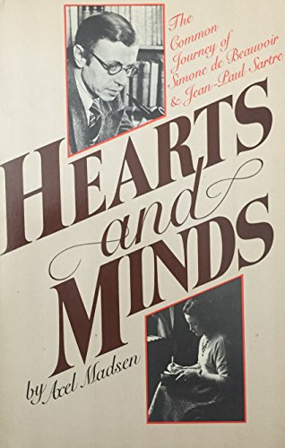 9780688082062: Hearts and Minds: The Common Journey of Simone de Beauvoir and Jean-Paul Sartre