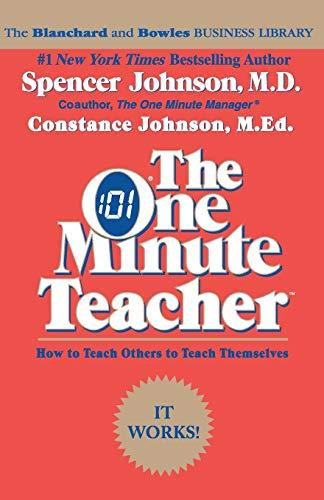 9780688082499: The One Minute Teacher: How to Teach Others to Teach Themselves
