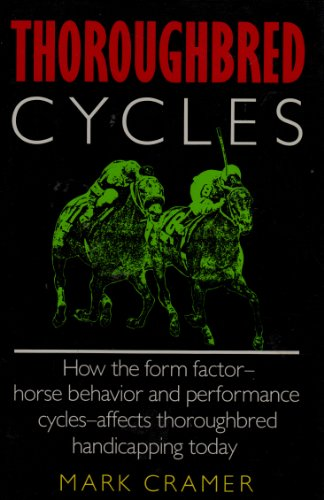9780688084509: Thoroughbred Cycles