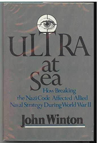 9780688085469: Ultra at Sea