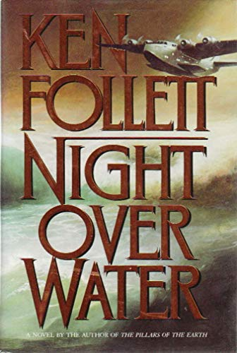 9780688085797: Night over Water (WILLIAM MORROW LARGE PRINT EDITIONS)