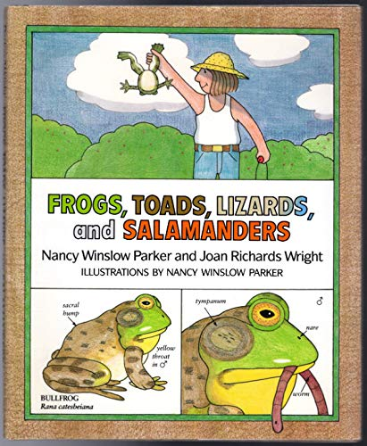 9780688086800: Frogs, Toads, Lizards, and Salamanders