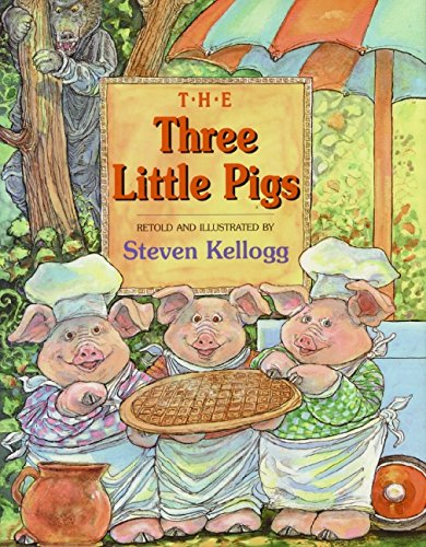 The Three Little Pigs: Kellogg, Steven