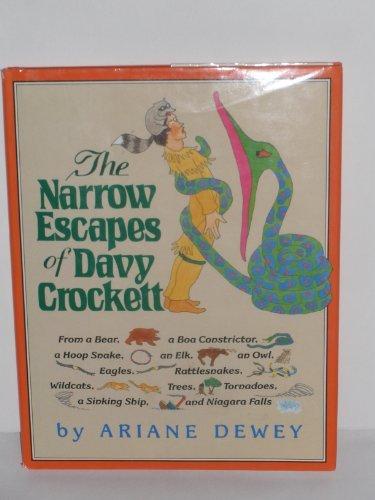 9780688089146: The Narrow Escapes of Davy Crockett (Move Tall Tales)