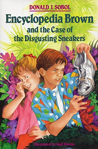 9780688090128: Encyclopedia Brown and the Case of the Disgusting Sneakers