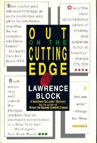 Out on the Cutting Edge ***SIGNED***: Lawrence Block