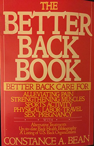 9780688100032: The Better Back Book: Simple Exercises for the Prevention and Care of Back Pain