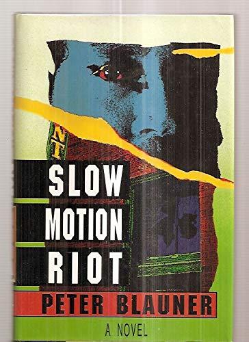Slow Motion Riot: A Novel: Blauner, Peter