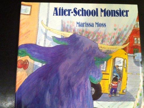 9780688101169: After-School Monster