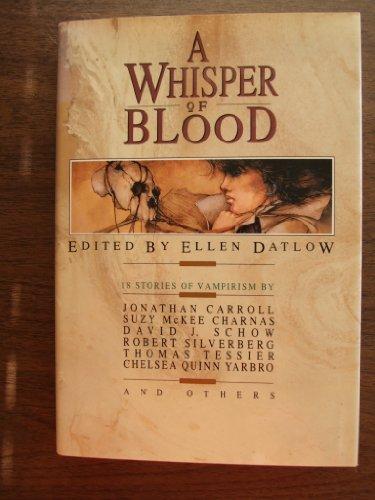 9780688103613: A Whisper of Blood: 18 Stories of Vampirism