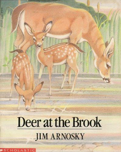 Deer at the Brook: Arnosky, Jim