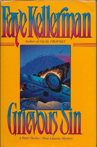 9780688105549: Grievous Sin: A Peter Decker/Rina Lazarus Mystery (Peter Decker & Rina Lazarus Novels)
