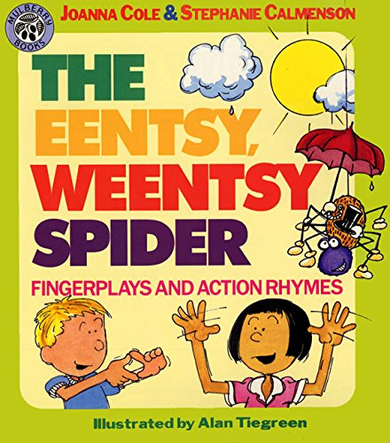 9780688108052: The Eentsy, Weentsy Spider: Fingerplays and Action Rhymes