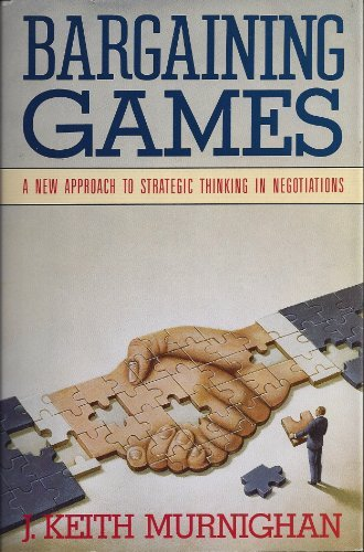 9780688109059: Bargaining games: A new approach to strategic thinking in negotiations