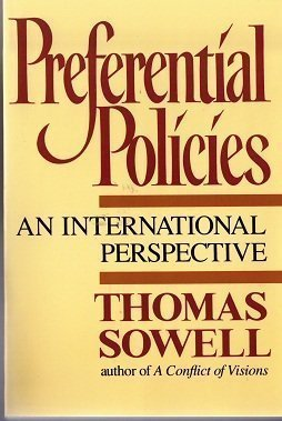 9780688109691: Preferential Policies: An International Perspective